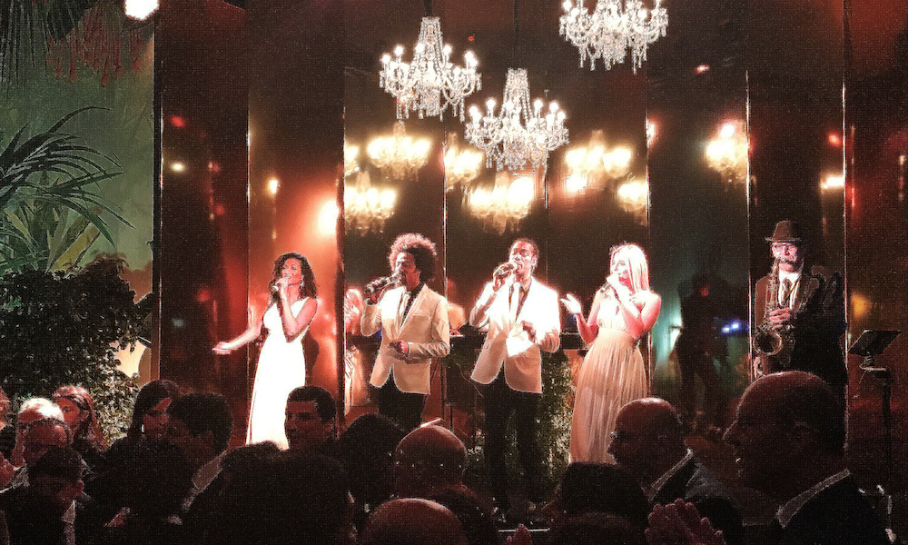 party band for hire at a bar mitzvah in Rome
